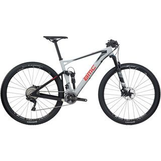 BMC Fourstroke 01 XT 2017, grey - Mountainbike