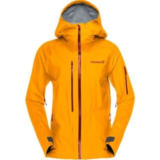 Norrona lofoten Gore-Tex Active Jacket, orange crush - Skijacke