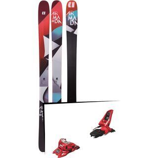 Set: Armada Trace 98 2019 + Marker Squire 11 ID red