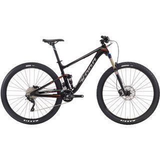 Kona Hei Hei Trail 2016, black/silver+orange - Mountainbike