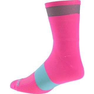 Specialized Reflect Tall Socks, neon pink - Radsocken