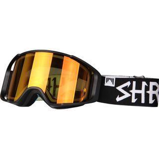 Shred Simplify inkl. Wechselscheibe, blackout/Lens: burn reflect caramel - Skibrille
