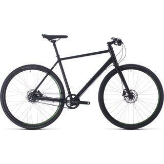 Cube Hyde Race 2020, black´n´green - Urbanbike