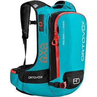 Ortovox Free Rider 20 S ohne Avabag-Unit, aqua - Lawinenrucksack