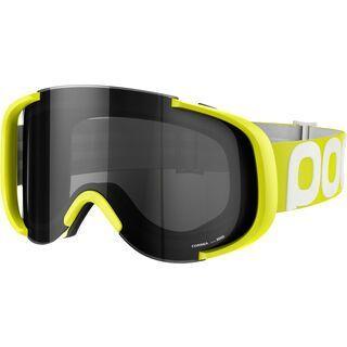 POC Cornea Flow, unobtanium yellow/Lens: grey - MX Brille