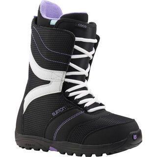 Burton Coco 2015, Black/Purple - Snowboardschuhe