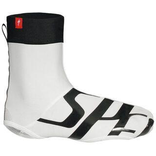 Specialized Wordmark Shoe Cover, White/Black - berschuhe