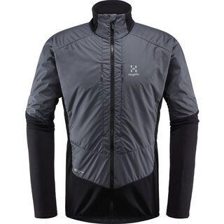 Haglöfs Touring Hybrid Jacket Men, true black/magnetite - Thermojacke
