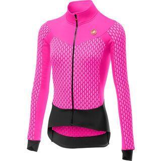 Castelli Sfida W Jersey FZ, pink fluo - Radtrikot