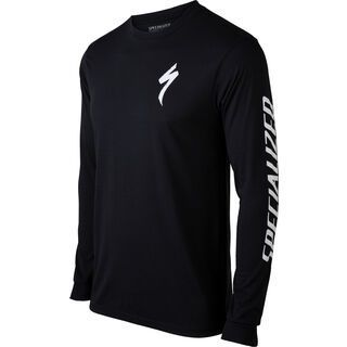 Specialized Men's Longsleeve T-Shirt, black - Radtrikot