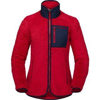 Norrona warm3 Jacket W's, jester red - Fleecejacke