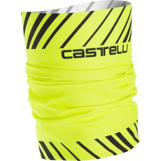 Castelli Arrivo 3 Thermo Head Thingy, yellow fluo/black - Multifunktionstuch