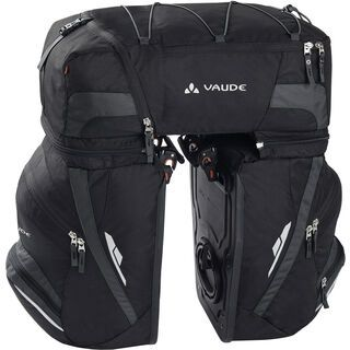 Vaude Karakorum, black/anthracite - Fahrradtasche