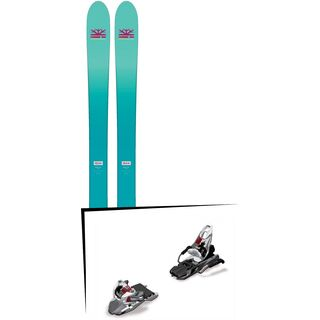Set: DPS Skis Nina F99 Foundation 2018 + Marker Free Ten