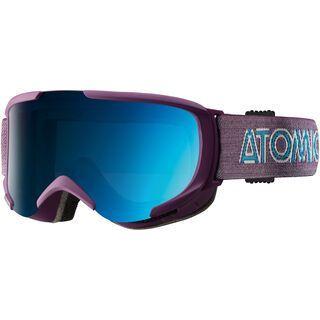 Atomic Savor S ML, purple/Lens: mid blue multilayer - Skibrille