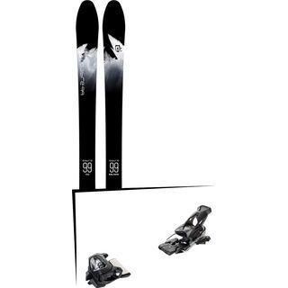 Set: Icelantic Sabre 99 2018 + Tyrolia Attack² 16 GW solid black