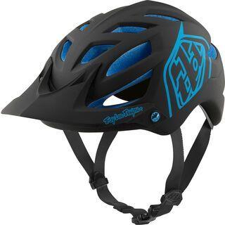 TroyLee Designs A1 Classic Helmet MIPS, black/blue - Fahrradhelm