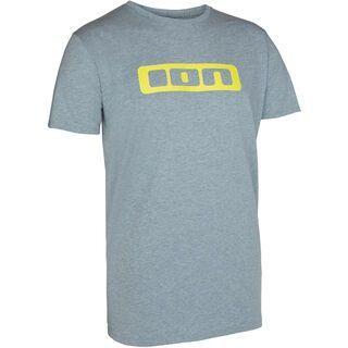 ION Tee SS Logo, stone grey melange - T-Shirt