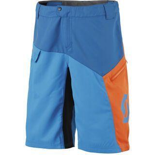 Scott Trail 20 ls/fit Shorts, mykonos blue/neon orange - Radhose