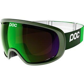 POC Fovea, green/Lens: persimmon green mirror - Skibrille