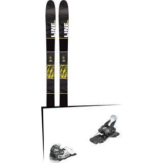 Set: Line Tigersnake 2016 + Tyrolia Attack 13 95 mm, solid black white - Skiset