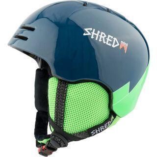 Shred Slam-Cap Mini, wee blue green - Skihelm