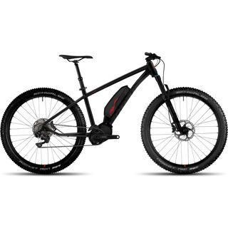 Ghost Hybride Kato 8 AL 27.5 Plus 2017, black/red - E-Bike