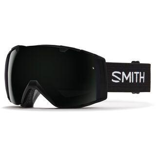 *** 2. Wahl *** Smith I/O inkl. Wechselscheibe, black/Lens: blackout - Skibrille |