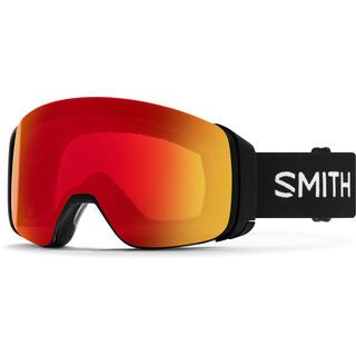 Smith 4D Mag inkl. WS, black/Lens: cp photochromic red mir - Skibrille