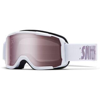 Smith Daredevil, white/ignitor mirror - Skibrille