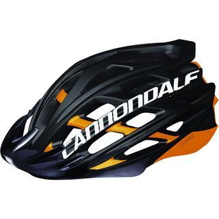Cannondale Cypher MTB, black/orange - Fahrradhelm