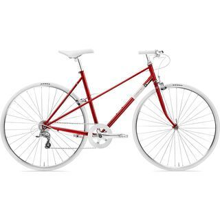 Creme Cycles Echo Mixte Uno 2018, red - Fitnessbike