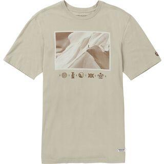 Burton Make Tracks SS, pelican - T-Shirt