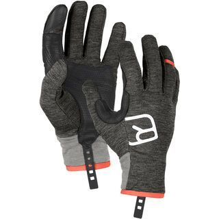 Ortovox Fleece Light Glove M, dark grey blend - Skihandschuhe