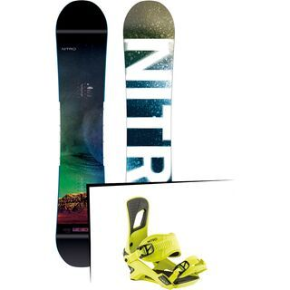 Set: Nitro Team Exposure Gullwing Wide 2019 + Nitro Rambler muted brights series toxic
