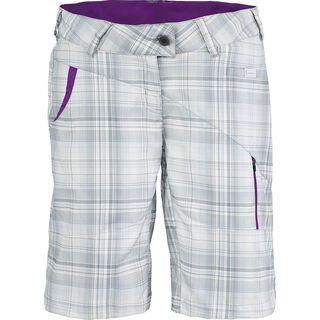 Scott Womens Cutlass Short, grey plaid - Shorts
