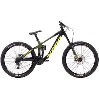 Kona Operator DL 2018, olive/black/yellow - Mountainbike