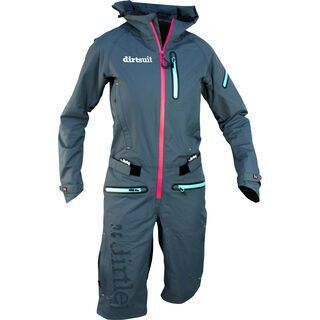 dirtlej DirtSuit Pro Edition Ladies Cut, azurblau/peach - Rad Einteiler