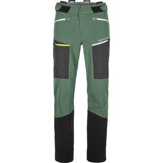 Ortovox Merino Naturtec Pordoi Pants M, green forest - Skihose