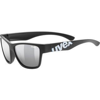 uvex sportstyle 508, black mat/Lens: litemirror silver - Sportbrille