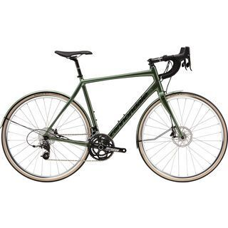 Cannondale Synapse Alloy SRAM Rival Disc 2015, masked green/black - Rennrad
