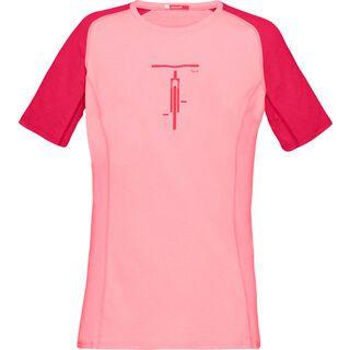 Norrona fjørå equaliser lightweight T-Shirt (W), geranium pink - Radtrikot