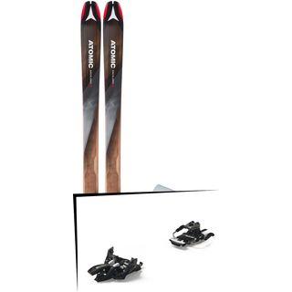 Set: Atomic Backland 95 + Hybrid Skin 95 2019 + Marker Alpinist 9 Long Travel black/titanium
