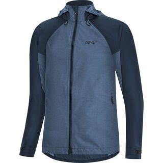 Gore Wear C5 Damen Gore-Tex Trail Kapuzenjacke, orbit blue - Radjacke
