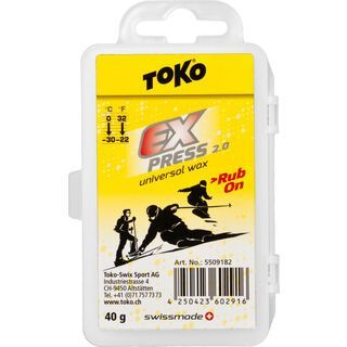 Toko Express Rub-on - Gleitwachs