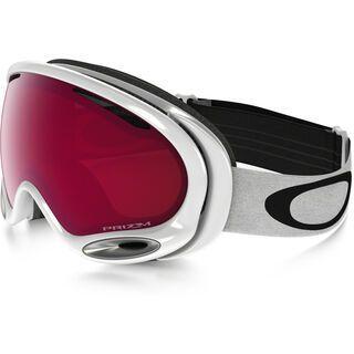 Oakley A Frame 2.0 Prizm, polished white/Lens: prizm rose - Skibrille
