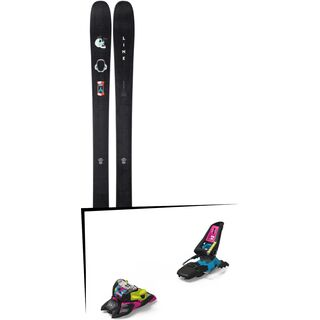 Set: Line Chronic 2019 + Marker Squire 11 ID black/pink/blue