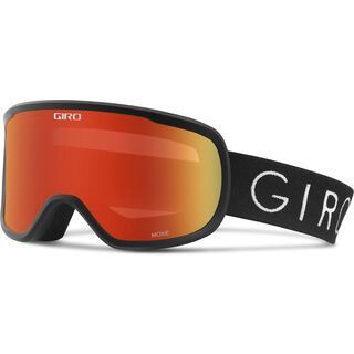 Giro Moxie inkl. Wechselscheibe, black/Lens: amber scarlett - Skibrille