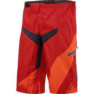 Scott Progressive 10 ls/fit Shorts, red/tangerine orange - Radhose