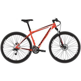 Specialized Hardrock Comp Disc 2014, Gloss Rocket Red/Black/White - Mountainbike